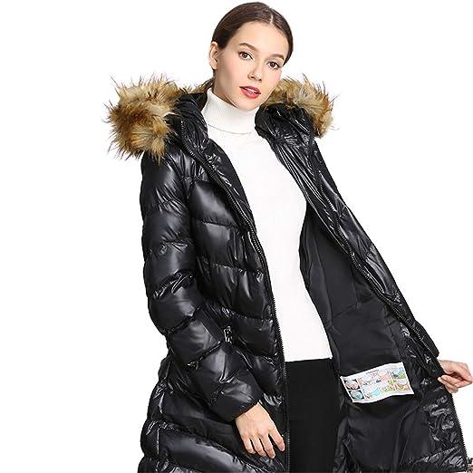 c3c05b078e8 Amazon.com: CT COUTUDI Women's Winter Coat Puffer Down Jacket with ...