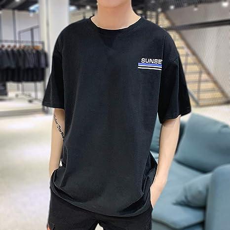 Camisas Hombre Manga Corta Estampadas Camiseta Casual de Manga Corta con Cuello Redondo Deportivo Hombres Camisa Negra Crop Top Camisas Hombre Camisas Manga Corta Hombre Camisa Verde Hombre Jodier: Amazon.es: Deportes y