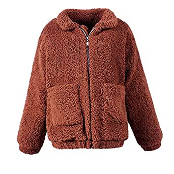 Amazon.com: Women's Casual Solid Jacket, Winter Warm Parka