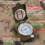 Sportneer Military Lensatic Sighting Compass with
