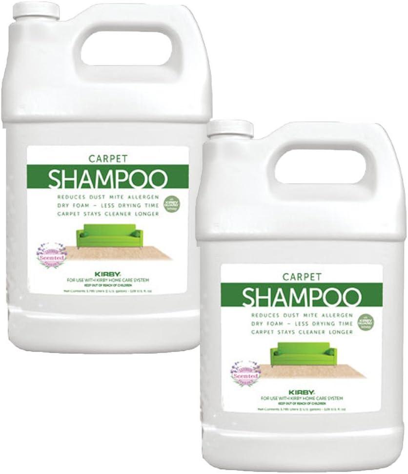 2 Gallons Genuine Kirby Allergen Shampoo (Lavender Scent). Verwendung mit alle Model Kirby Vacuum Cleaner Shampooer Systems.