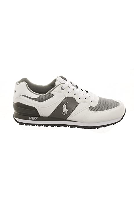 Polo Ralph Lauren - Zapatillas de Sintético para Hombre Gris Size ...