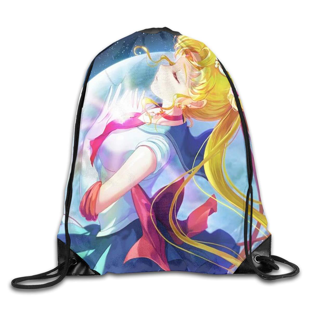 WSXEDC Bolsa de cordón Sailor Moon Más Durable Mochila para ...