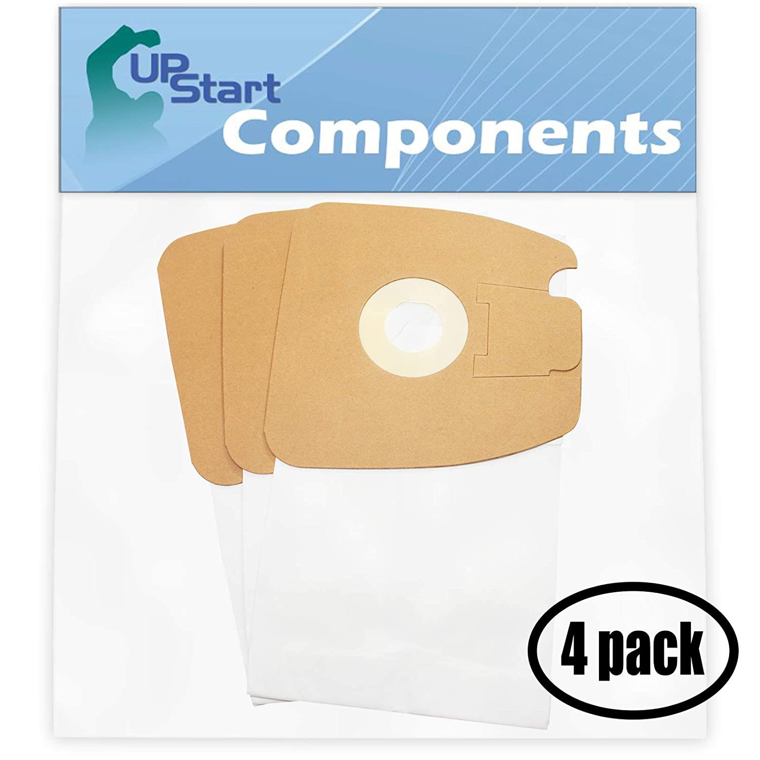 12 Replacement MM Bags 60295C for Eureka, Sanitaire - Compatible with Eureka 3670G, Sanitaire SC3683A, Eureka Mighty Mite Pet Lover 3684F, Eureka Mighty Mite 3670G, Eureka 3684F, Sanitaire SC3683, Sanitaire S3681, Eureka Style MM, Eureka 3670A, Eureka 3684B, Eureka Mighty Mite 3684F