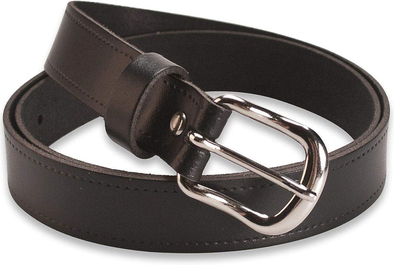 Made in UK fibbia rimovibile Cintura in pelle da uomo Hawkdale bottoni a scatto