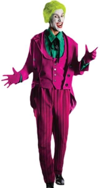 erdbeerloft - Disfraz hombre Joker con chaqueta, camiseta ...