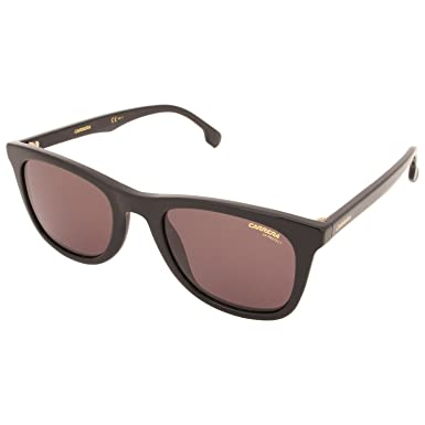 a1037e74ee362 Amazon.com  Sunglasses Carrera 134  S 0807 Black   70 brown lens ...