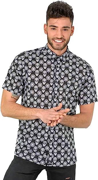 Camisa hombre estampada
