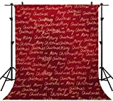 OUYIDA Christmas Theme 10X10FT Seamless CP Pictorial Cloth Photography Background Computer-Printed Vinyl Backdrop SD157