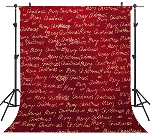 OUYIDA Christmas Theme 10X10FT Seamless CP Pictorial Cloth Photography Background Computer-Printed Vinyl Backdrop SD157 by OUYIDA (Image #1)