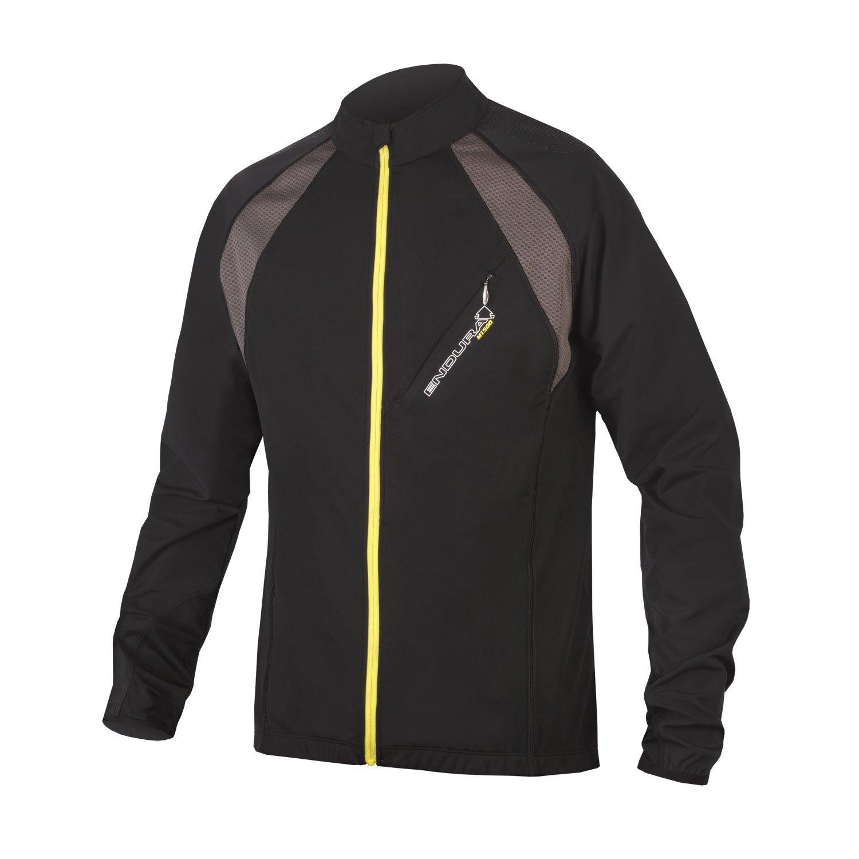 Endura MT500 Full Zip Long Sleeve Cycling Jersey II Black, Large