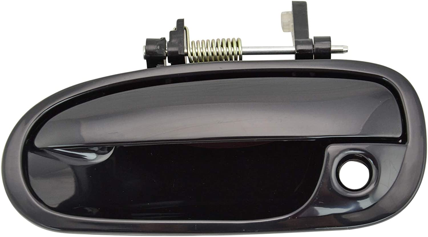 New Smooth Paintable Black Outside Door Handles FOR 1996-00 CIVIC 2-DOOR COUPE