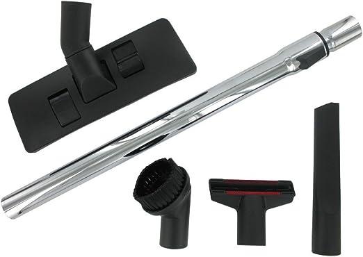 Boquilla para Suelos Universal para aspiradora de plástico Negro y Tubos Duros telescópico de alargador Standard (35 mm): Amazon.es: Hogar