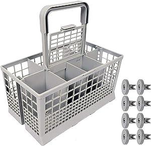 8PCS Dishwasher Basket Wheels Pack Universal Dishwasher Accessory Wheels For AEG Favorit Privileg Zanussi 8 Pieces Kit For Dishwasher