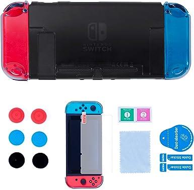 Funda Dockable para Nintendo Switch, Carcasa Protectora para ...