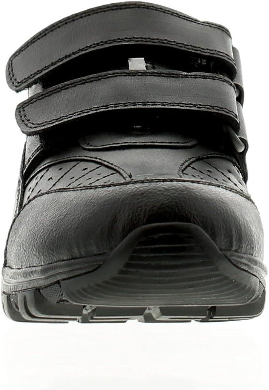 Buckle My Shoe Bungo Boys Kids Leather School Shoes Black