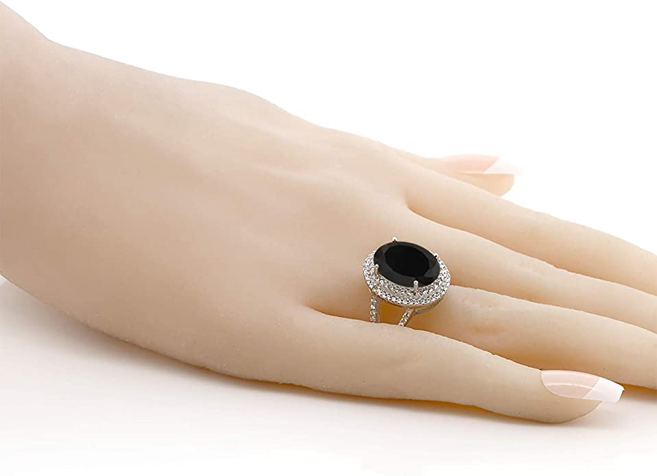 Handmade Jewelry Gift Gemstone Ring Engagement Ring Spiral Ring Delicate Ring Cocktail Ring Black Onyx Ring 30th Birthday Gold Ring