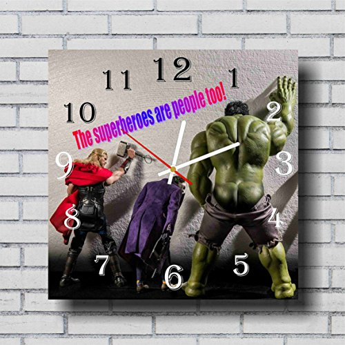 Irredeemable Ant-man Costume (Avengers 11.4'' Handmade Wall Clock - Get unique décor for home or office – Best gift ideas for kids, friends, parents and your soul mates)