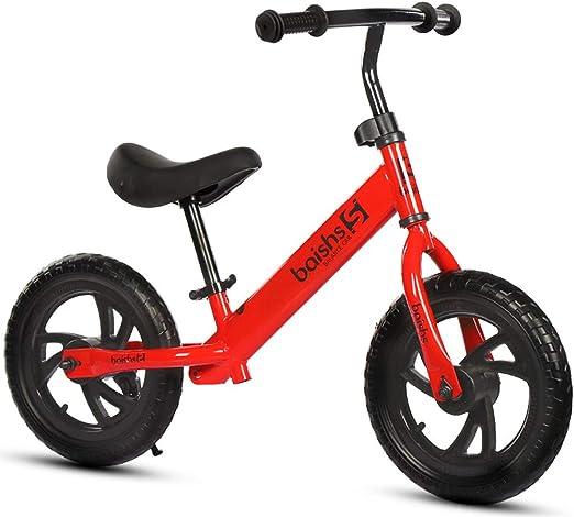 RR-Bike Bicicleta De Equilibrio De 12 Pulgadas/Niño Pequeño para 3 ...
