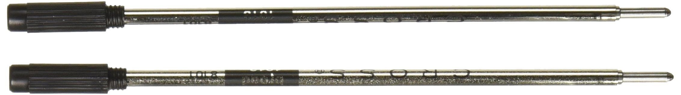 Cross Ballpoint Pen Refill 12-Pack Black Broad by Cross (Image #1)