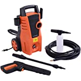 Costway 1400PSI Electric High Pressure Washer 2000W 1.6GPM Sprayer Cleaner Machine