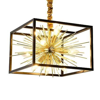 QINQ6 Vintage LED Lámpara de Techo Lámpara Seeksung Loft ...