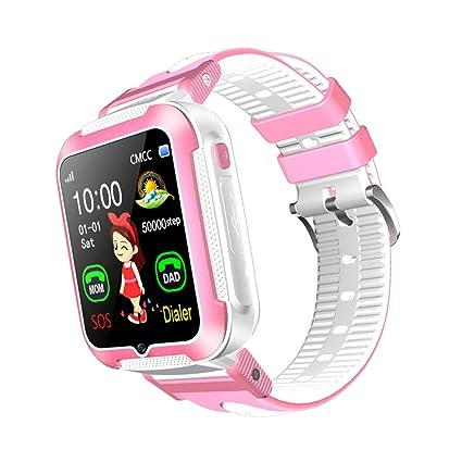 HKPLDE 4sol Niños Smartwatch/Ranura para Tarjeta SIM GPS ...