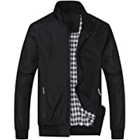 MAGE MALE Men's Windbreaker Bomber Jacket Softshell Outdoor Sportswear Coat