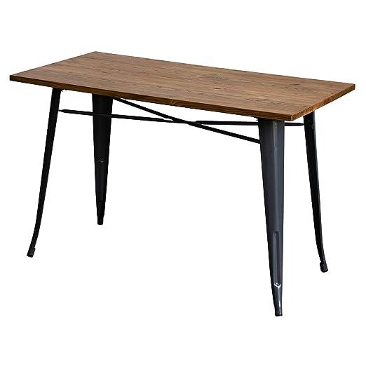 Marko Furniture Prato Mesa de Comedor Rectangular de Madera ...
