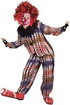 erdbeerclown – Unisex – Disfraz para niños, Horror Creepy Payaso ...