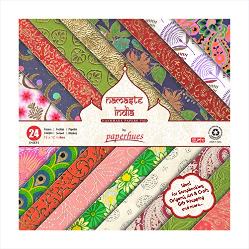 (Paperhues Namaste India Collection Scrapbook Papers 12x12