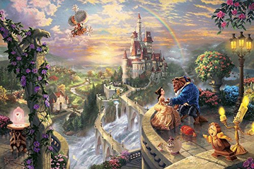 Fairy Tales Beauty And The Beast Tv Movie Film Poster Fabric Silk Print