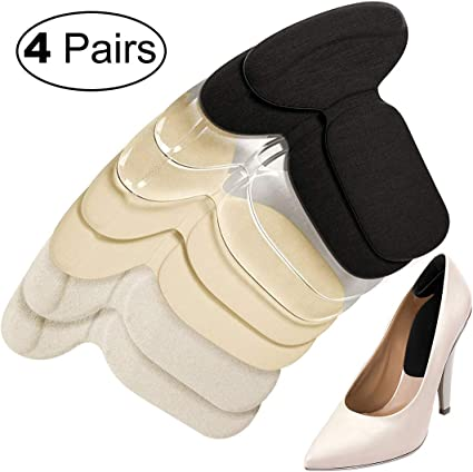 Silicone Gel Cushion Insole Fit High Heel Shoes Sandals Anti Slip Foot Pad S