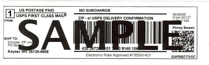 Amazon.com: Mesa Label Express® Dymo Compatible ship-99019 ...