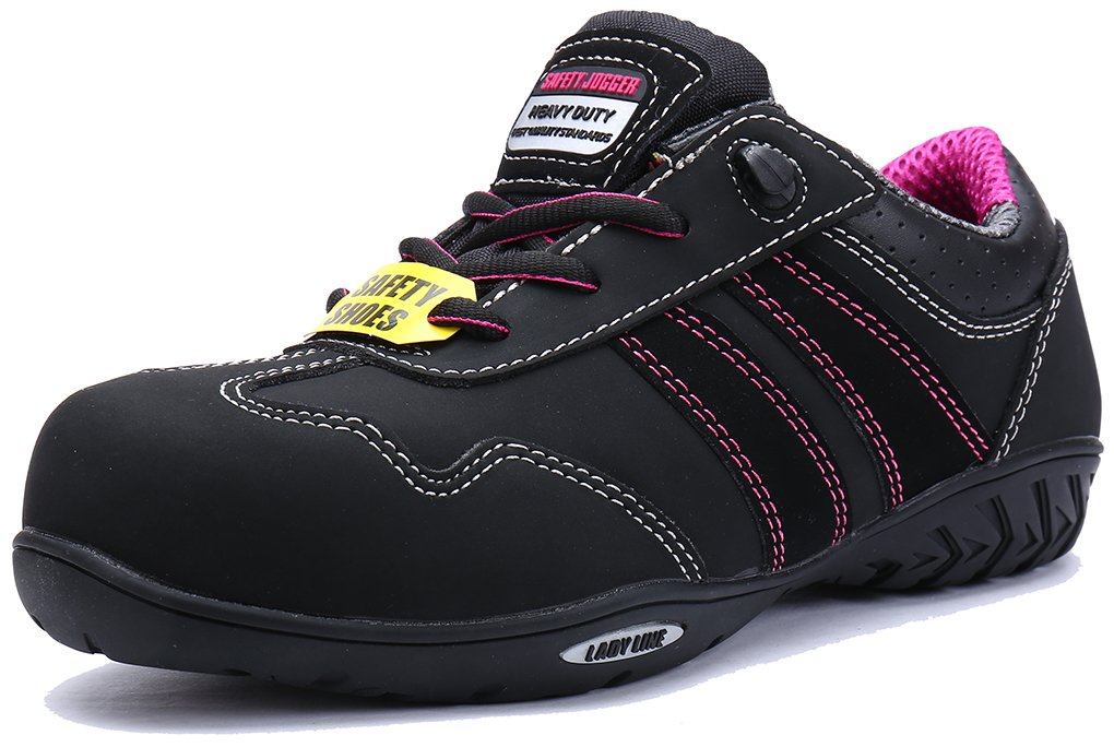 SAFETY JOGGER for Work Women's Steel Toe S3 Level Safety Shoe (7.5) by SAFETY JOGGER