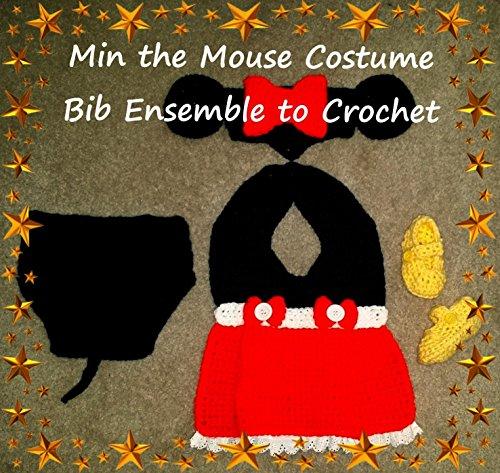 - Min the Mouse Bib Ensemble Crochet Patterns
