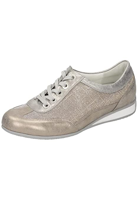 Waldläufer Damen-Sandale - G Gold 710901-82, Grösse 5