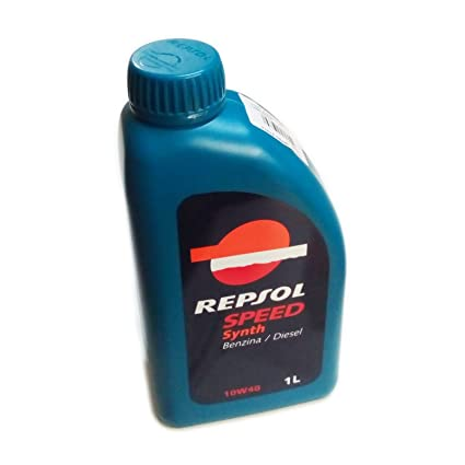 Repsol Speed Synth 10 W40 1lt Aceite Lubricante motor coche ...