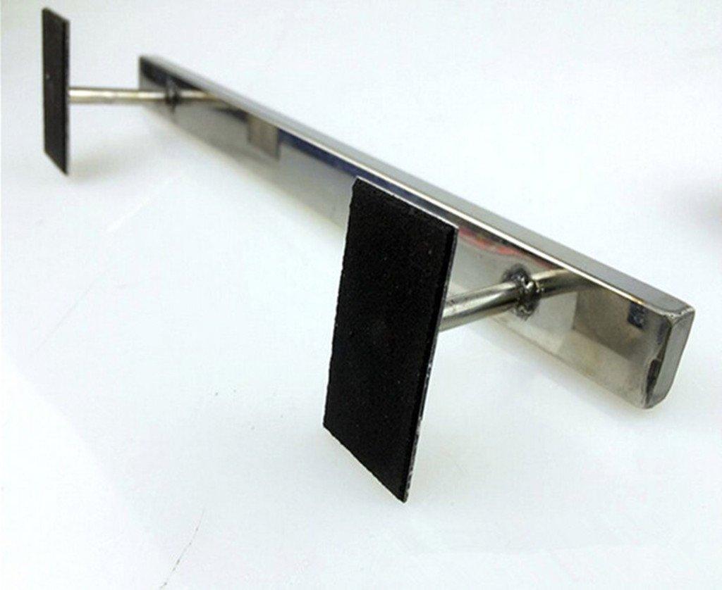 Remeehi Handmade Straight Stainless Fingerboard Rail Square Rail