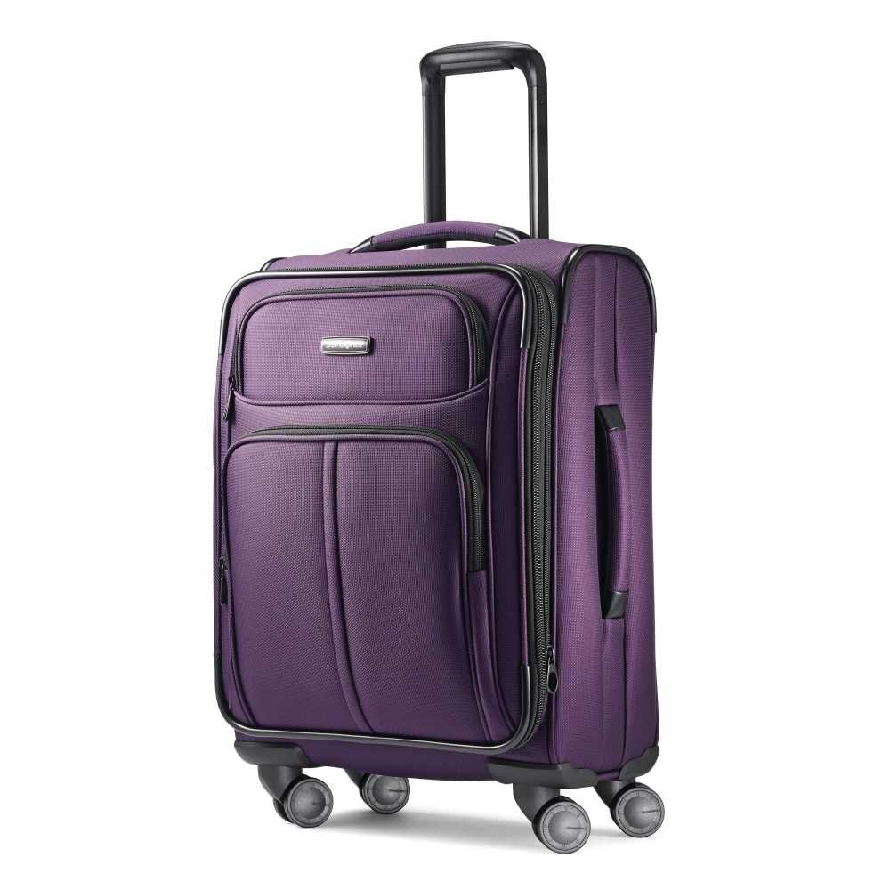 Samsonite Leverage LTE Expandable Softside Carry On with Spinner Wheels, 20 Inch, Charcoal Samsonite Drop Ship Code 91997-1174