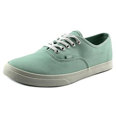 Vans Authentic Lo Pro Women US 8.5 Green Fashion Sneakers