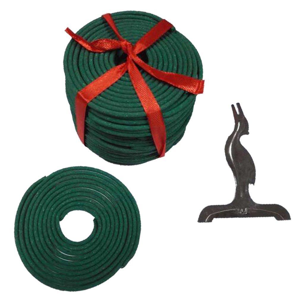 baoblazeボックス60 mmの自然Incense ( 180min )スパイラルコイルIncense 8 Chooses Available グリーン 0f21a028e2af1cc3639fd578fa558e10 B07B248KQZ グリーンティー