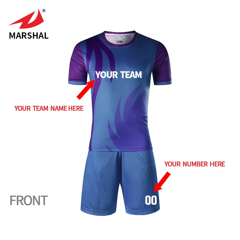 2f5c30790 ZHOUKA Custom football shirt football training clothes uniform soccer shirt kids  soccer jersey: Amazon.co.uk: Sports & Outdoors