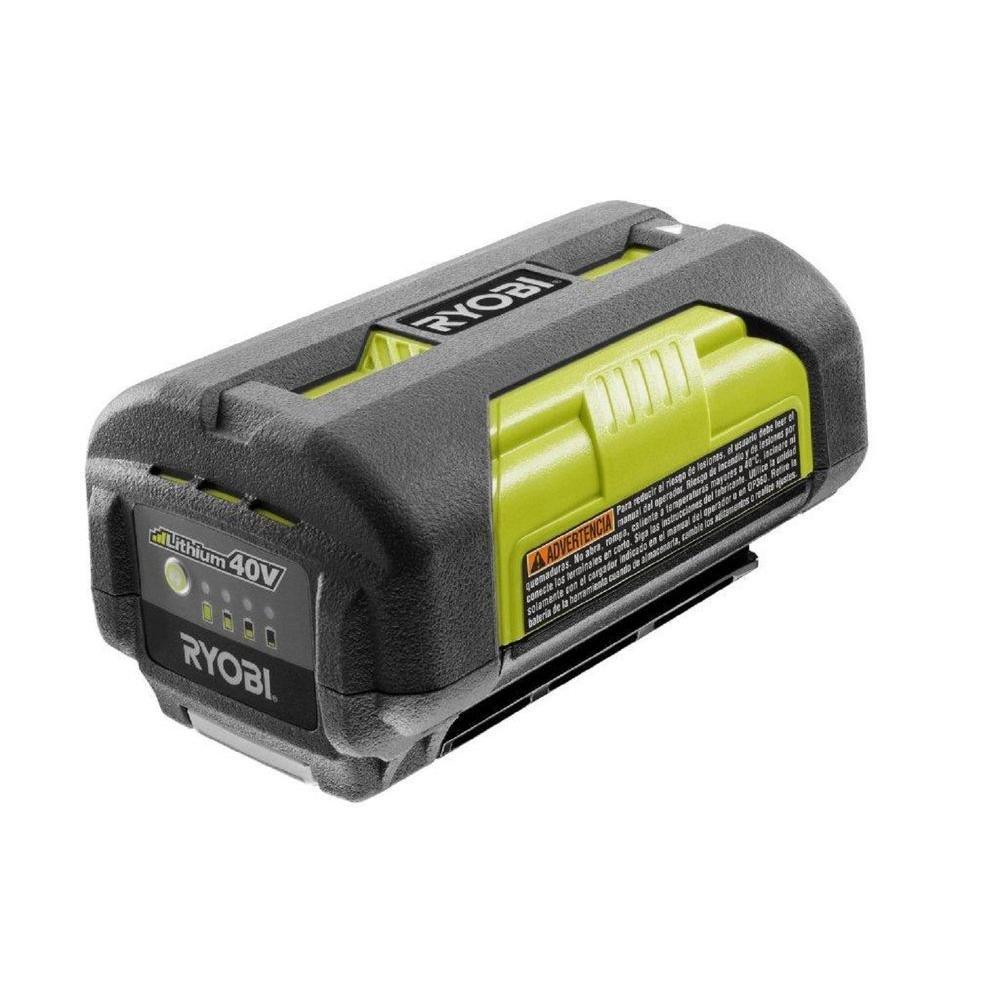 Ryobi OP4026A 2.4 Amp 94 WH 40-Volt Dual Discharge Battery