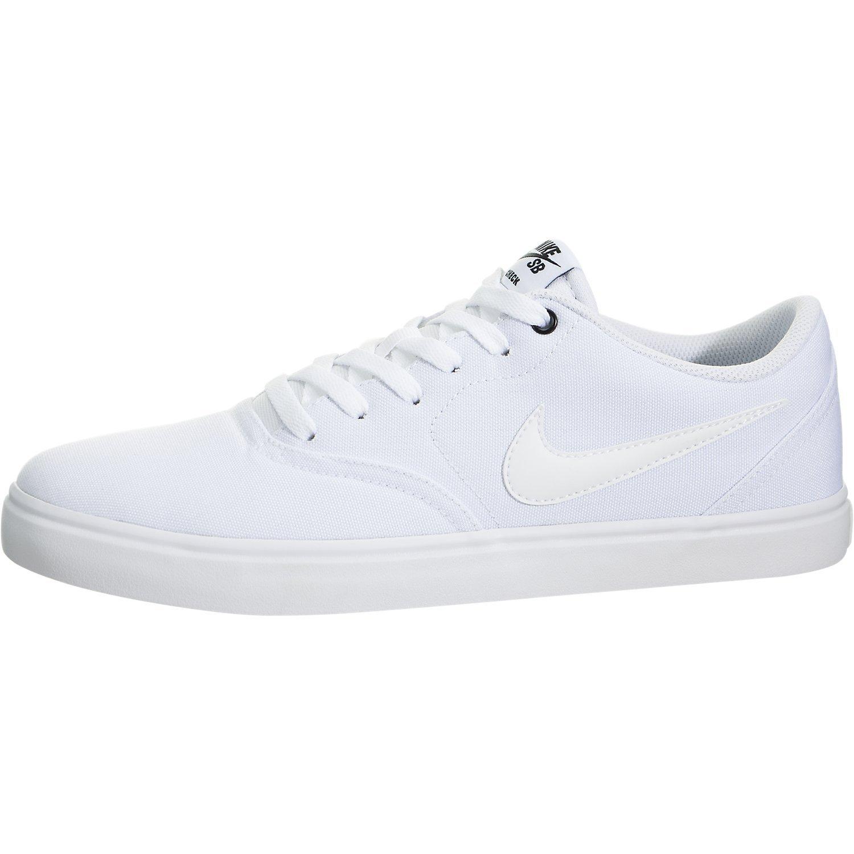 quality design 83d10 783d2 Galleon - Nike Men s SB Check Solar Canvas Skate Shoe, Sneaker, White White,  9.5 US M