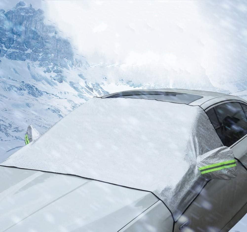 Sole ZHONG AN Copertura Auto Protezione Invernale per Raggi UV Ghiaccio Copertura Parabrezza Polvere Ghiaccio e Neve Disponibile in Tutte Le Stagioni!