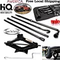 For 2004-2014 Ford F150 F-150 Lug Wrench Kit with Bag & 2 Ton Scissor Jack , Spare Tire Tool Kit