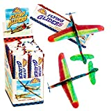 6 x Flying Glider Planes Boys Kids Party Bag Loot Fillers