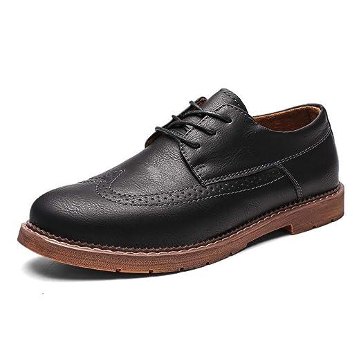 Casual y cómodo zapatos de barco para hombre antideslizante ...