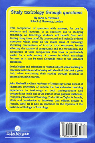 Study Toxicology Through Questions - http://medicalbooks.filipinodoctors.org